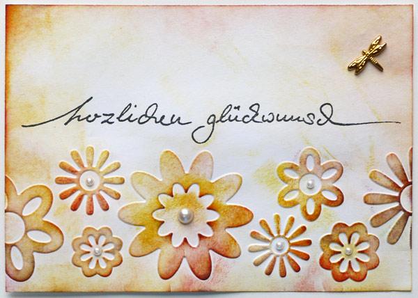 Sommergarten-Glückwünsche