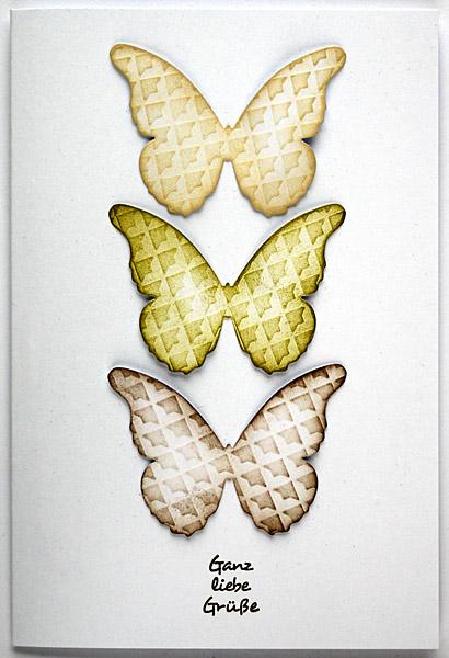 Gemusterte Schmetterlinge
