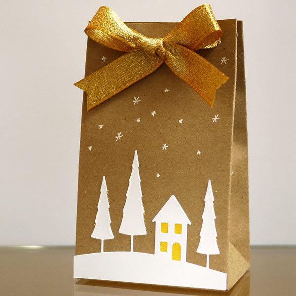 Weihnachtsverpackung mit dem Punch Board I