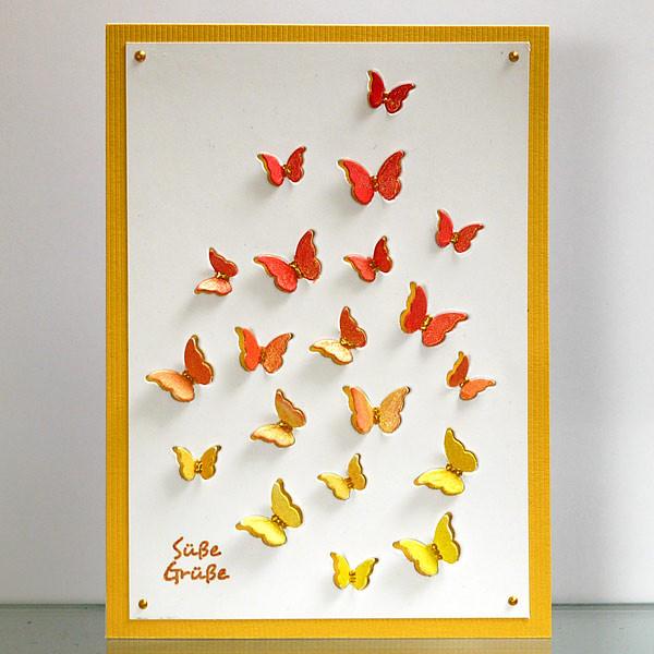 Schmetterlings-Grüße