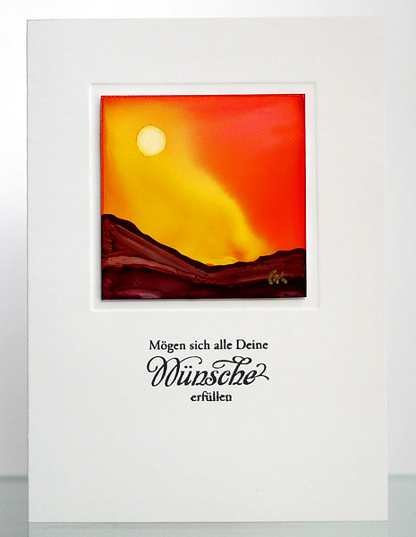 Malen mit Alcohol Inks VII