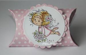 Kleine Pillowbox für ein Mädchen