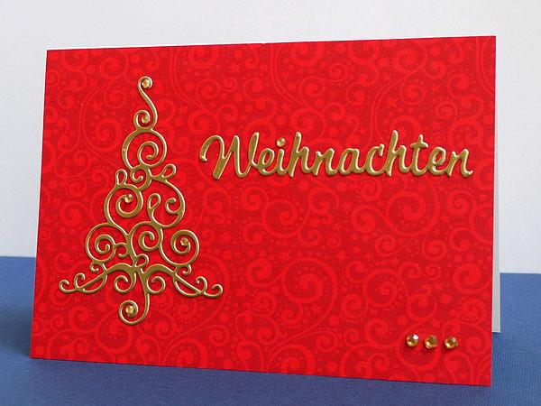 Rot-Goldene Weihnacht