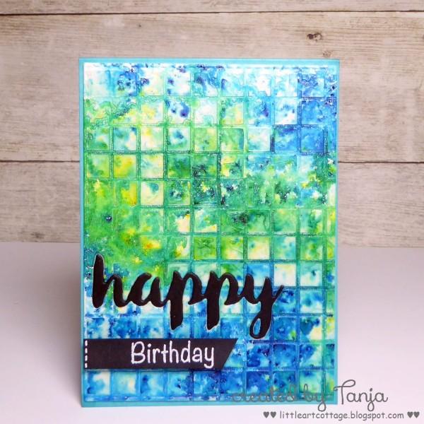 Happy Birthday Grid
