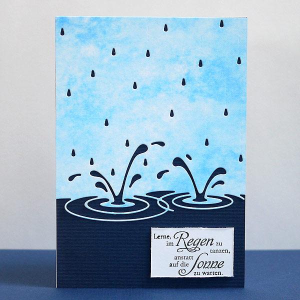 Lerne, im Regen zu tanzen