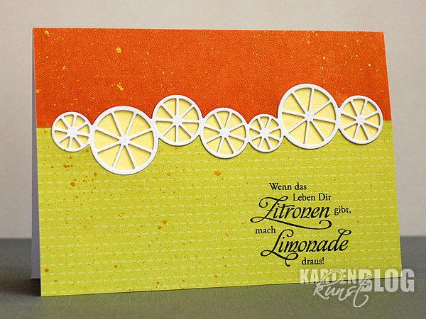 Heute gibt's Zitronenlimonade