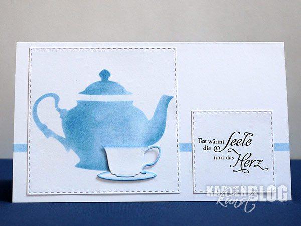 Einladung zum Teetrinken