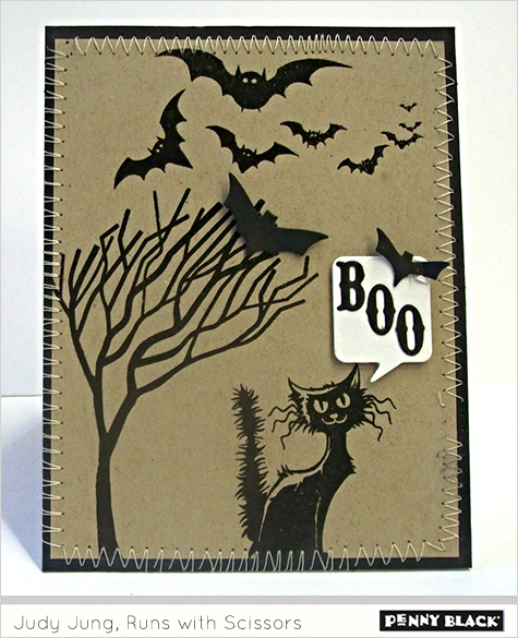 Karte von Penny Black: Spooky Fun