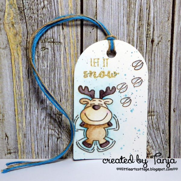 Christmas Tag #2 - Let it snow