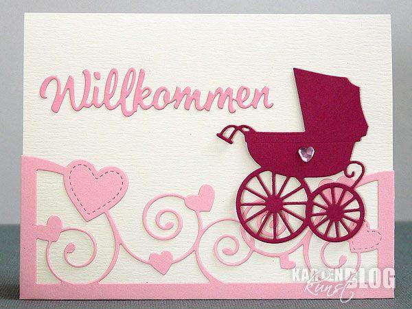 "Baby-Karte ""Willkommen"""