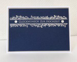 Alternative Hochzeitskarte