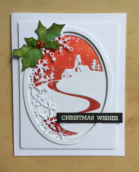 Karte von Memory Box: Christmas Wishes