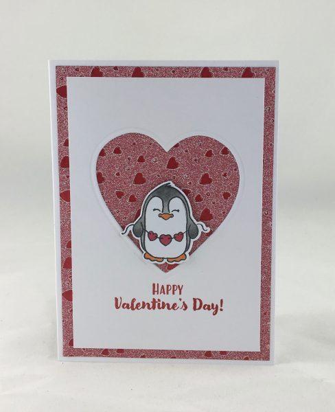 Valentinskarte: ein Layout in 2 Varianten