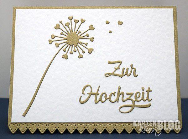 Herzblumen zur Hochzeit