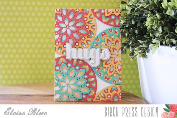 Karte von Birch Press: Hugs