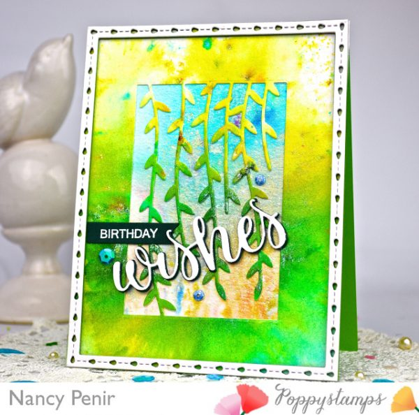 Karte von Poppy Stamps: Birthday Party!