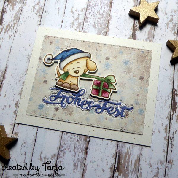 Frohes Fest Hündchen