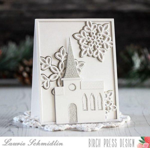 Karte von Birch Press: Serene Holiday Card