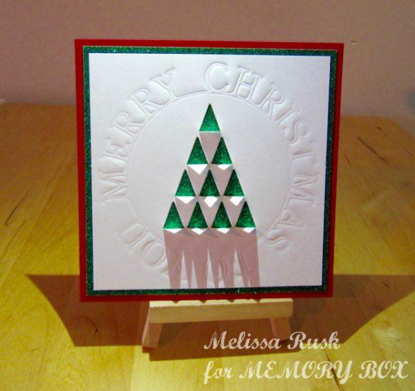 Karte von Memory Box: Merry Christmas to You!