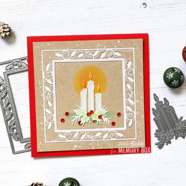 Karte von Memory Box: Winter Wishes Card