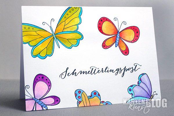 Schmetterlingspost