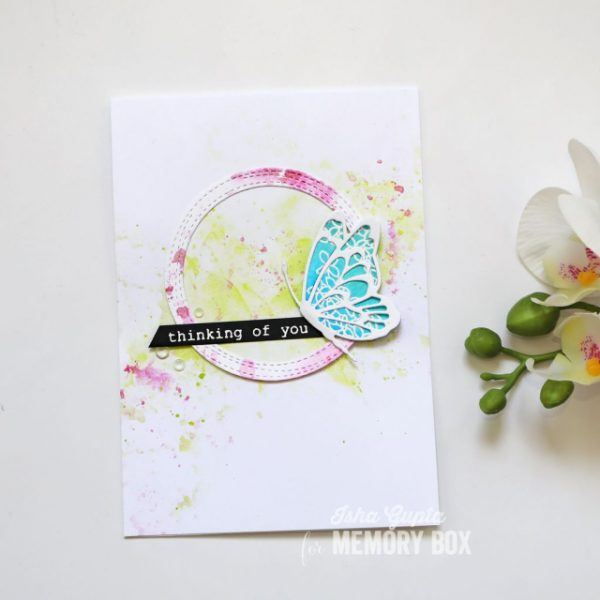 Karte von Memory Box: Thinking of You Card