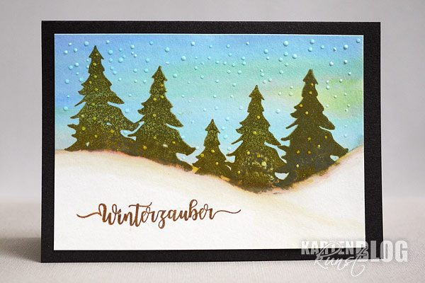 Tannenbaum-Winterzauber