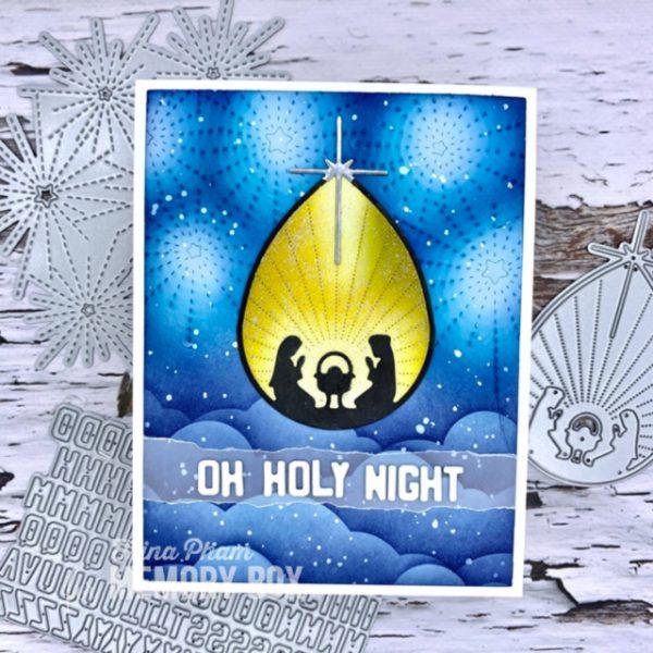 Karte von Memory Box: Nativity Scene