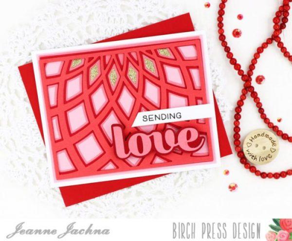 Karte von Birch Press: Dazzle Love and Hugs