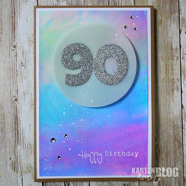 Bunt zum 90. Geburtstag