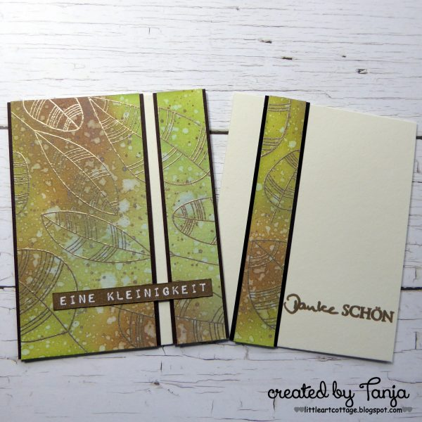 Blätter-Karten-Duo