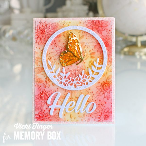 Karte von Memory Box: Spring Is In The Air