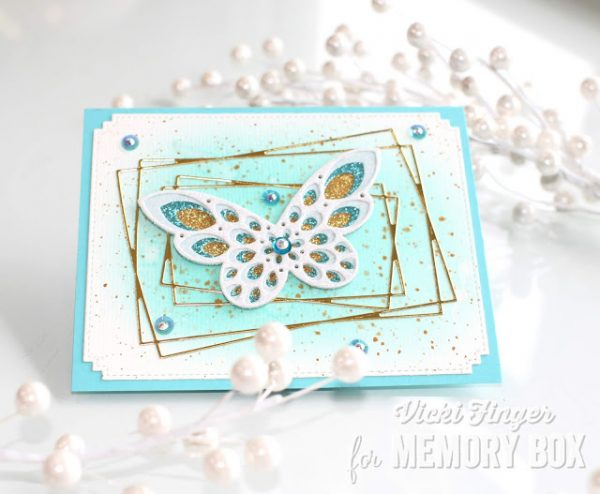 Karte von Memory Box: A Simple Card Using Stylish Memory Box Products