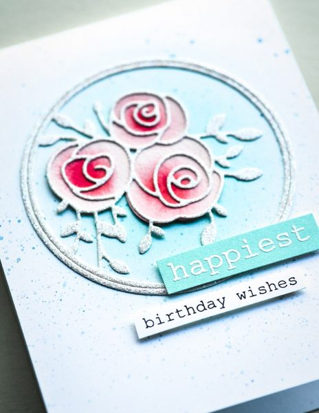 Karte von Memory Box: Happiest Birthday Roses