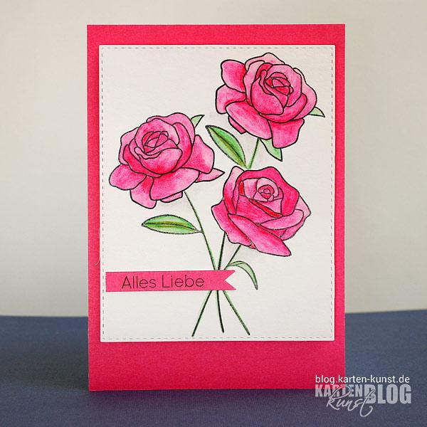 Pinke Rosen für dich!