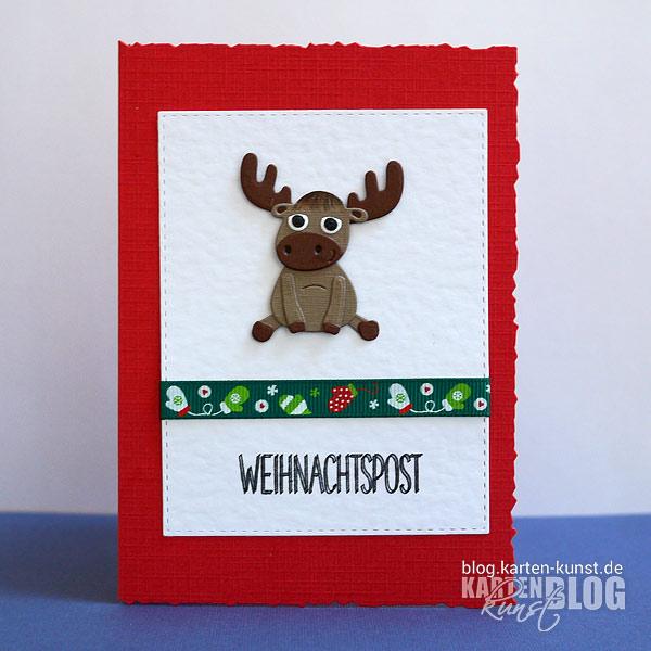 Tierische Weihnachtspost