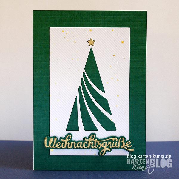 Weihnachtsgruß-Baum