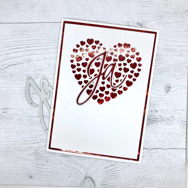 Hochzeitskarte - als Einladung auch massentauglich