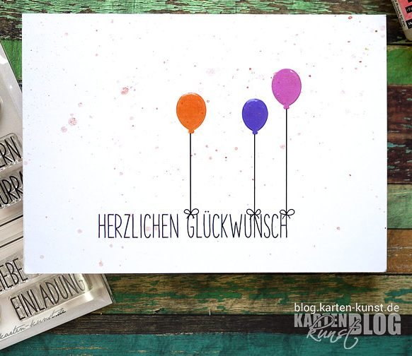 Glückwunsch-Ballons