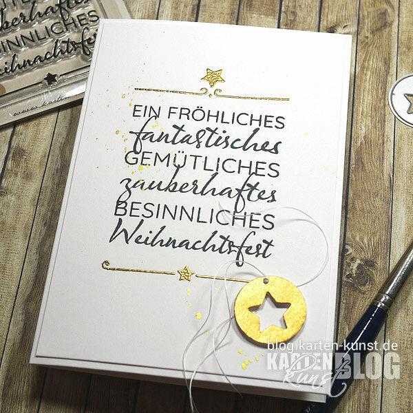 Karten-Kunst Stempel-Release September 2021 - Fantastisches Weihnachtsfest