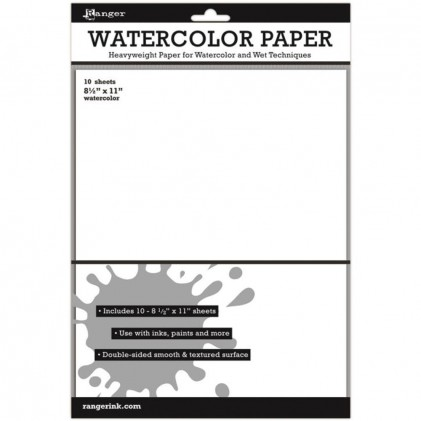 Ranger Surfaces Watercolor Paper - Aquarellpapier 10 Blatt