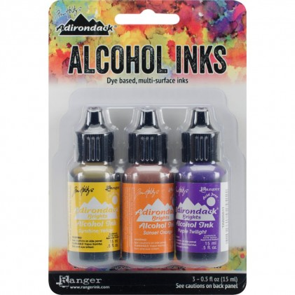 Adirondack Alcohol Inks - 3er Set Summit View