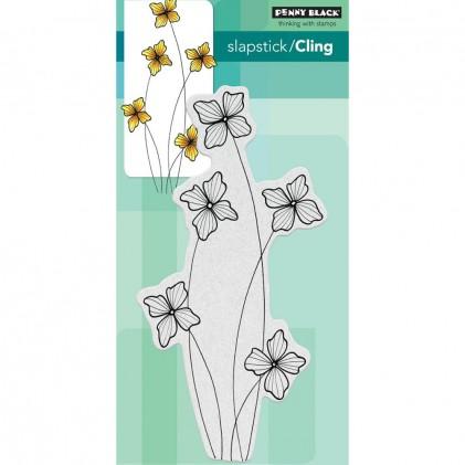 Penny Black Cling Stamps - Floweret
