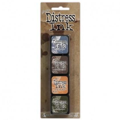 Distress Mini Ink Stempelkissen Kit #9