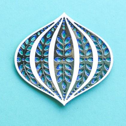 Birch Press Stanzschablone - Marisol Ornament Layer Set