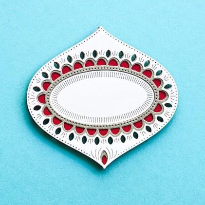 Birch Press Stanzschablone - Belle Ornament Layer Set
