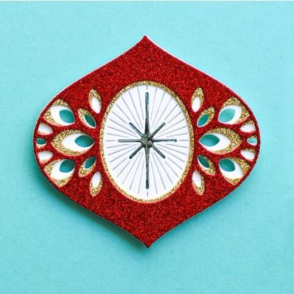 Birch Press Stanzschablone - Twinkle Ornament Layer Set