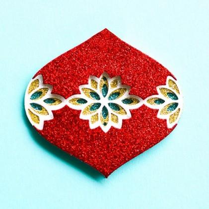 Birch Press Stanzschablone - Flicker Ornament Layer Set