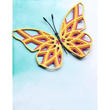 Birch Press Stanzschablone - Starlight Butterfly Layer