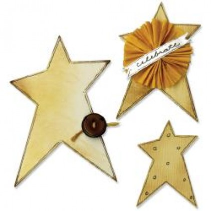 Sizzix Bigz Die - Primitive Stars